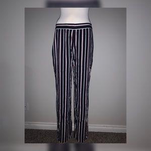 Olsen Mona Straight Feminine Fit Stripe Pants